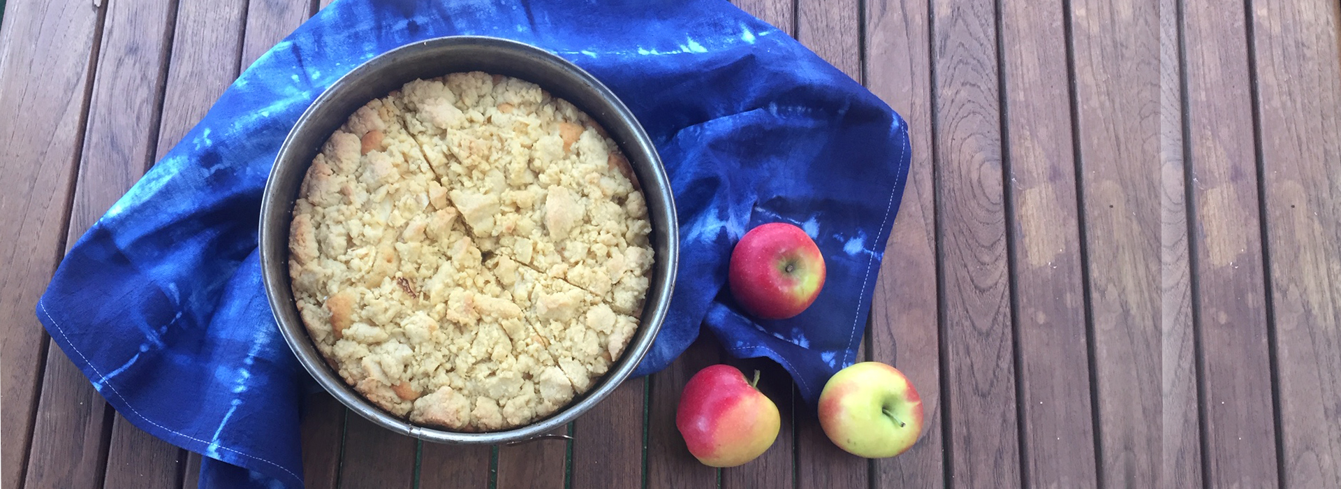 Apfelkuchen mit Mürbeteig Rezept