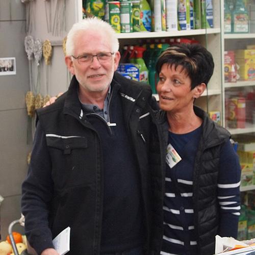 Herr Teiking und eine Mitarbeiterin